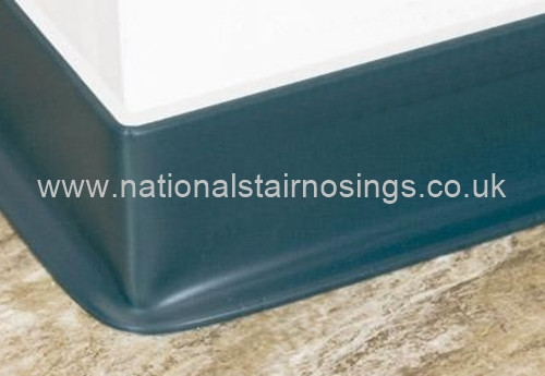 Flexible Pvc Sit On Skirting 2m National Stair Nosings