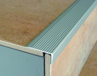 Aluminium Stair Nosing For Laminate,Carpet,Tile & Lino-2.7m