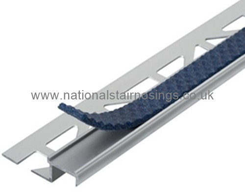 Exterior Interior Aluminium Anti Slip Tile In Stair Edge