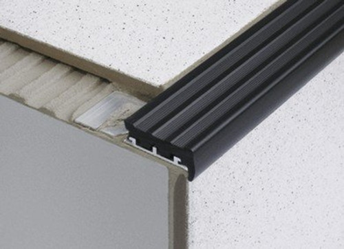 Heavy Duty Tile In Anti Slip Stair Edge Nosing For Tiles   2.5m