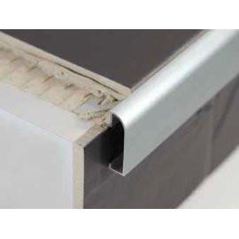 Aluminium Worktop Countertop Edging For Tiles 2 5m