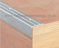 Aluminium Perforated Corner Edge Nosing Trim - 2.7m.