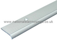 Fluted Aluminium Stair Edging Strip