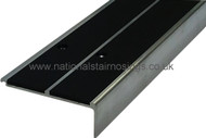 Double Channel Heavy Duty Square Anti Slip Stair Nosings