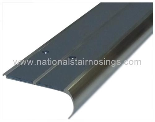 Double Channel Rounded Anti Slip Stair Nosing National
