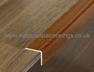 25x20mm Aluminium Stair Edging,Self Adhesive For Laminate & Tile