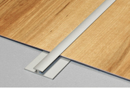 Aluminium Double Edge Extra Narrow Cover Strip For LVT/Lino-2.7m