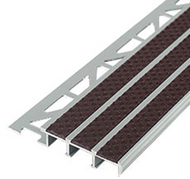 Extra Wide Outdoor/Indoor Stair Nosing For Tiled Stairs-2.5m