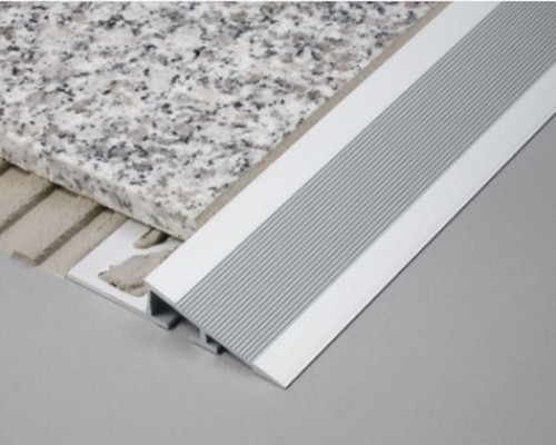 Aluminium Heavy Duty Ramp Transition Profile For Tile