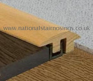 Hardwood Semi Ramp Profile For Wood Flooring & Carpet