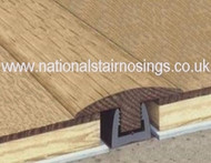 Solid Wood Hardwood T Door Bar Threshold Strips For Same Level Flooring