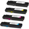 4 Pack - replacement toner cartridges for Xerox black and color set