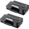 Twin Pack - Extra High Yield Compatible replacement for the Samsung MLT-D205E laser toner cartridge