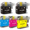 Brother LC103 Ink Cartridges High Yield (2 Black, 1 Cyan, 1 Magenta,1 Yellow). These are Compatible Replacement Inkjets for Brother Printers. – 5 Pack