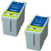 Twin Pack - Remanufactured replacement for Epson T019201 black ink cartridges