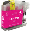 Premium compatible replacement Magenta ink cartridge for Brother LC103M - High Yield