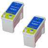 Twin Pack - Remanufactured replacement for Epson T028201 black ink cartridge