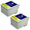 Twin Pack - Remanufactured replacement for Epson T008201 color ink cartridges