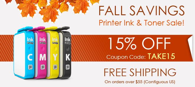 Printer Ink - 85% OFF!