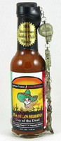 Captain Thom's Day of the Dead Hot Sauce w/ Keychain
