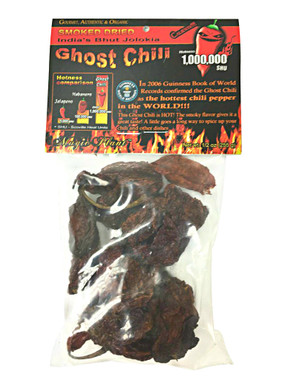 Ghost Pepper Dried Chili Pods