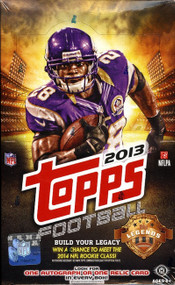 2013 Topps Football Hobby Box