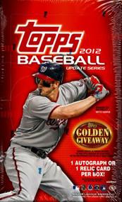2012 Topps Update Series Baseball Hobby Box