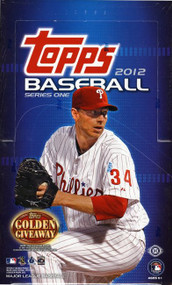 2012 Topps Series 1 Baseball Hobby Box