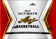 2012 Leaf Ultimate Basketball Hobby Box