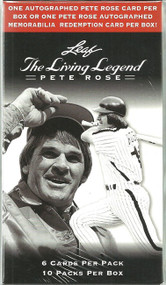 2012 Leaf Pete Rose The Living Legend Box