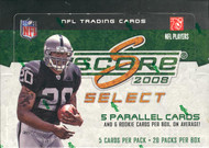 2008 Score Select Football Hobby Box