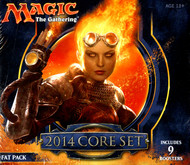 Magic the Gathering 2014 Core Set Fat Pack Box