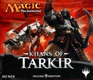 Magic the Gathering Khans of Tarkir Fat Pack Box
