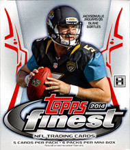 2014 Topps Finest Football Hobby Mini Box