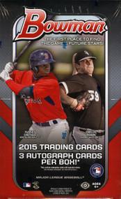 2015 Bowman Baseball Jumbo HTA Box