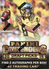 2015 Panini Contenders Draft Picks Football Blaster Box