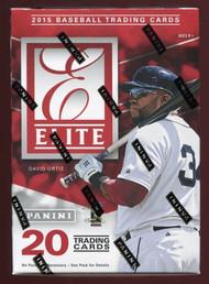 2015 Panini Elite Baseball Blaster Box