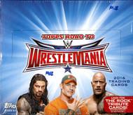 2016 Topps WWE Road To Wrestlemania Hobby Box