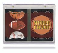 Ultra Pro Vertical Booklet Magnetic Card Holder