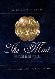 2016 Topps The Mint Baseball Hobby 4 Box Case