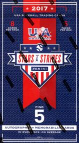 2017 Panini Stars and Stripes USA Baseball Hobby Box