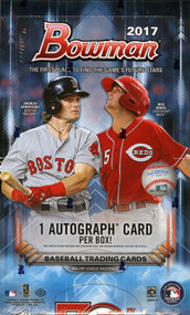 2017 Bowman Baseball Hobby 12 Box Case