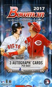 2017 Bowman Baseball Jumbo HTA 8 Box Case