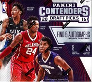 2016/17 Panini Contenders Draft Basketball Hobby Box