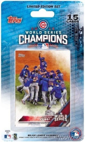 2016 Topps Chicago Cubs World Series Baseball Set