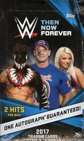 2017 Topps WWE Then, Now, Forever Wrestling Hobby Box
