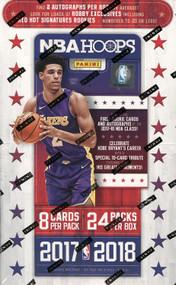 2017/18 Panini NBA Hoops Basketball Hobby Box