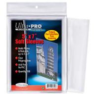 "Ultra Pro 5"" X 7"" Sleeves"
