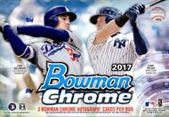 2017 Bowman Chrome Baseball HTA Choice 12 Box Case