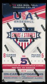 2018 Panini USA Stars and Stripes Baseball Hobby Box